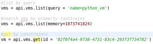 Python-sdk | oVirt