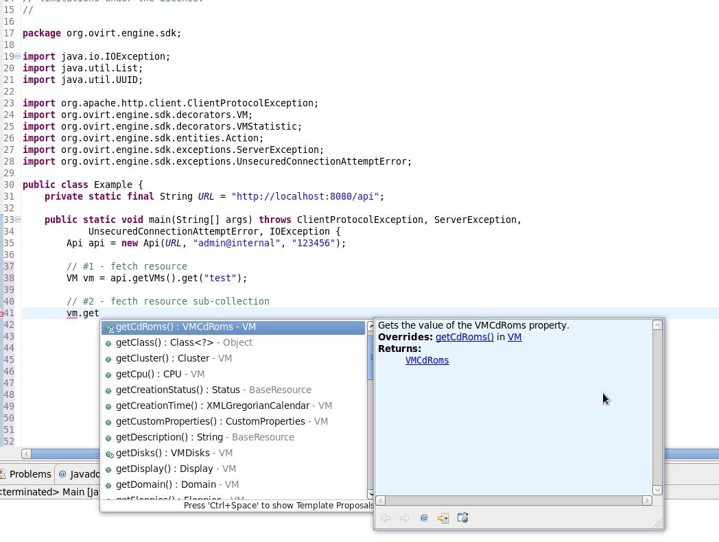Java-sdk | oVirt