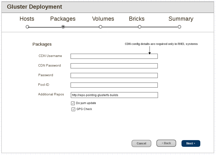 gdeploy-Packages